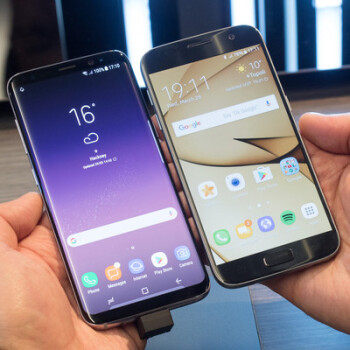 Picture from Samsung Galaxy S8 vs Samsung Galaxy S7: what's new, anyway?