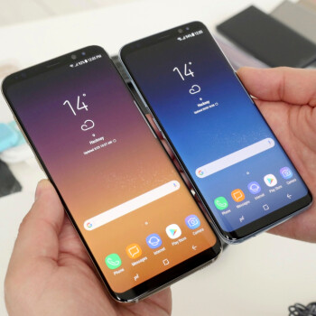 Picture from Will you be preordering the Galaxy S8, or the S8+?