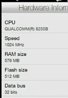 Custom ROMS point that all HTC HD2 smartphones have 576MB of RAM
