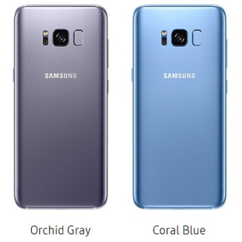 Which Galaxy S8 color version would you pick?