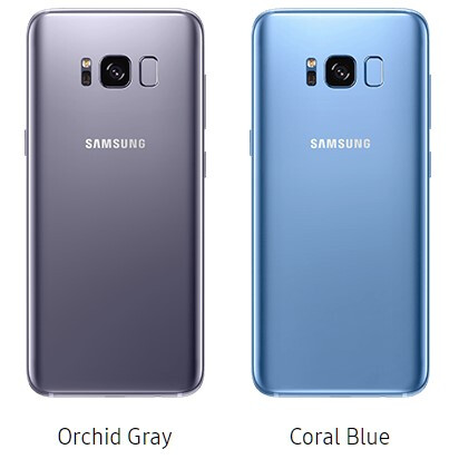 Which Galaxy S8 Color Version Would You Pick
