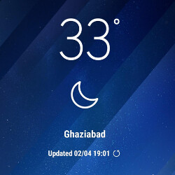 Grab the Samsung Galaxy S8 weather app widget for your Galaxy S7