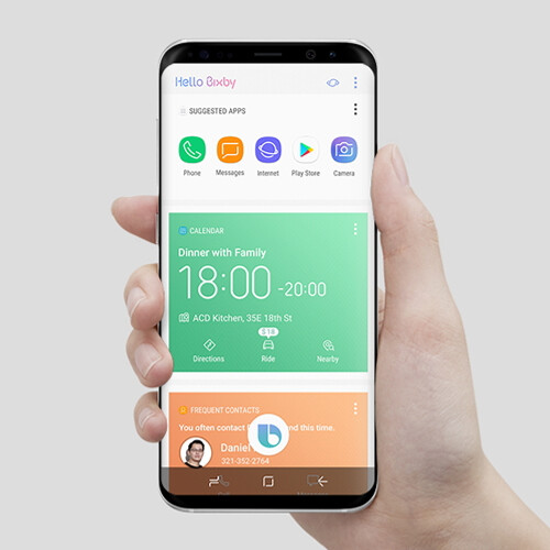 Samsung boasts about Galaxy S8's innovative design ...
