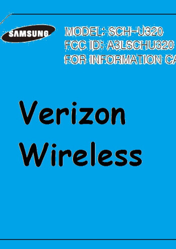 Samsung U320 for Verizon Wireless spotted on the FCC site