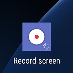 There's a secret native screen recorder on the Galaxy S7/S7