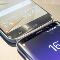 So, there's no flat screen variant of the Galaxy S8. What do you think about that?