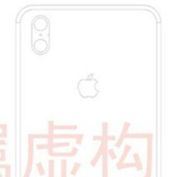 Alleged Apple iPhone 8 schematic shows vertical dual camera setup on back (Update)