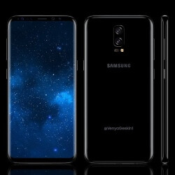 Samsung Galaxy Note 8 concept images envision a striking 6.4-inch handset with dual camera setup