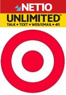 Net10's $50 UNLIMITED plan is exclusviely offered at Target