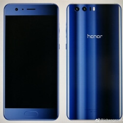 Leaked Honor 9 images show a phone reminiscent of the Xiaomi Mi 6 in Blue