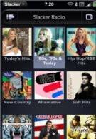 Slacker radio hitting up the airwaves on WebOS