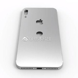 3D model made from iPhone 8's schematics leak reveals rear placement possible for Touch ID
