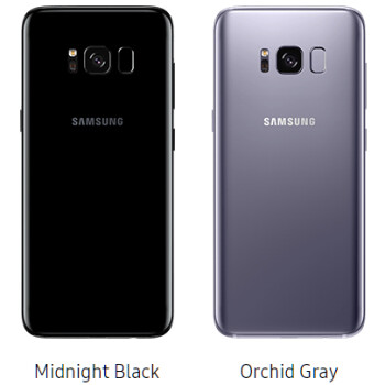 Which of the US-available Galaxy S8 or S8+ colors did you get? (poll results)