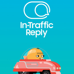 Samsung tackling driver distractions with its new app: In-Traffic reply, beta download available