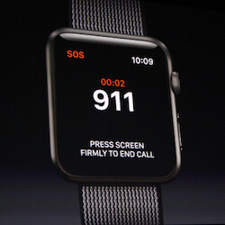 Student uses Apple Watch to call 911, while hanging from seatbelt after a car crash