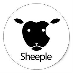 'Sheeple' added to the dictionary, cites Apple fans as example