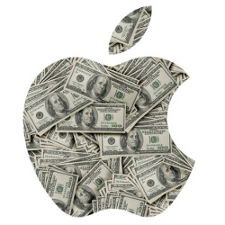 Apple to report on Tuesday that it currently holds $250 billion in cash