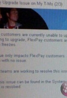 T-Mobile Flex Pay customers having trouble upgrading to new phone