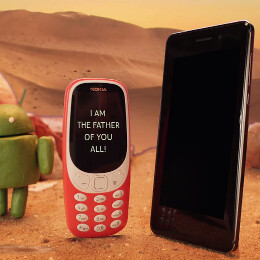 Nokia uses Star Wars Day to tease the release of its Android phones