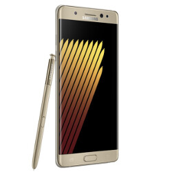 Screenshots of Samsung Galaxy Note 7R confirm lower capacity juicer and Android 7.0 on board