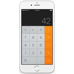 The Internet discovered you can swipe to backspace on the iPhone's calculator, and promptly went nuts