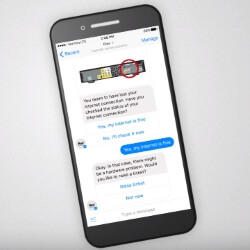 Ask Verizon's new Fios Chatbot what's on tonight through Facebook Messenger