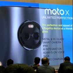 Video of Moto X (2017) presentation reveals dual camera, IP68 certification rating and more