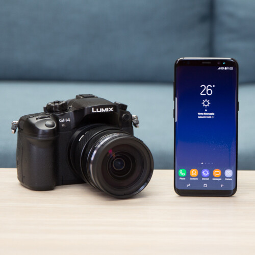 Galaxy S8 vs two dedicated cameras - Phone Arena