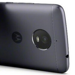 Moto E4 Plus press render, specs surface; yup, that's a 5000mAh juicer inside
