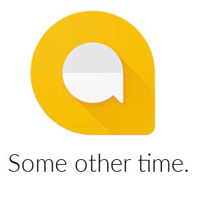Don't expect a Google Allo web client today
