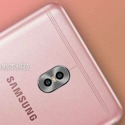 Samsung Galaxy C10 smiles for the camera wearing Rose Gold (UPDATE: It's a fake)