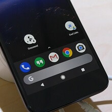 We got to see plenty of the redesigned Pixel launcher at Google I/O