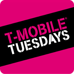 This coming week's T-Mobile Tuesday offers subscribers pizza and gas