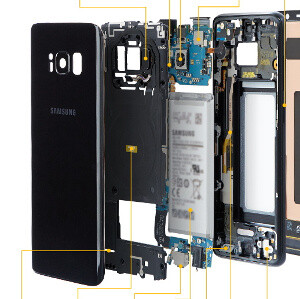 Samsung takes us on an inside tour of Galaxy S8 and S8+: see what it's made of