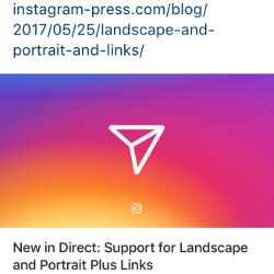 Instagram update brings support for landscape and portrait images