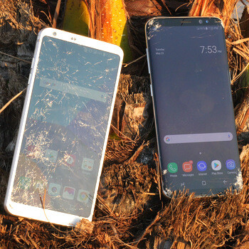 Samsung Galaxy S8 vs LG G6 drop test: which is tougher?