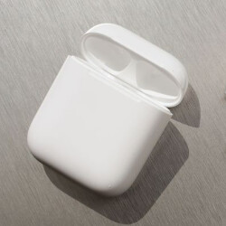 Apple AirPods case doubles as stand for the iPhone
