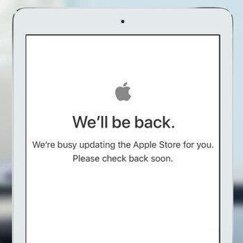 Apple store is down, new iPad Pro announcement likely to blame