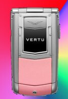 Vertu's phone gets pretty in pink just in time for Valentine's Day