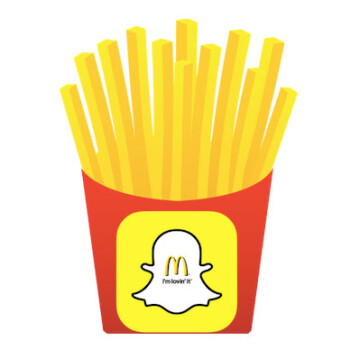 McDonald's Snapchat hiring campaign extends to USA, millennials wanted