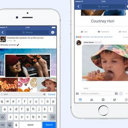Facebook is finally letting us add GIFs in comments