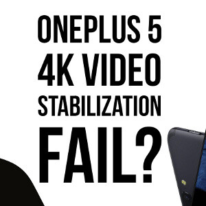 Picture from OnePlus 5 fails at 4K video stabilization: comparison vs Apple iPhone 7 Plus