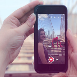 This free app lets you snap AR-like photos and videos, and put 3D characters or people into your shots