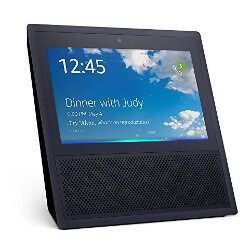 Picture from Amazon's touchscreen Echo Show stars in a series of demo videos prior to this week's launch