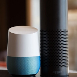 Picture from Google Home six times better at searches than Amazon Echo according to independent study