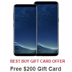 Deal: Unlocked Samsung Galaxy S8 and S8+ come with free $200 gift cards at Best Buy