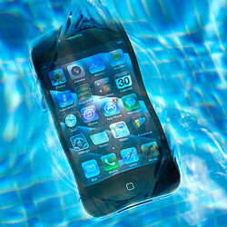 Have you ever had a smartphone damaged by water?