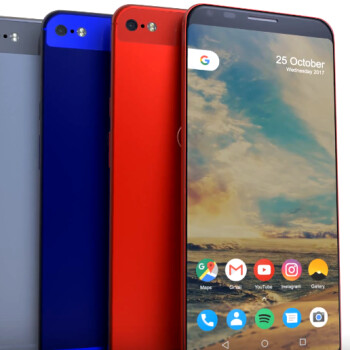 Gorgeous Pixel XL 2 concept envisions less rear glass, more LG styling