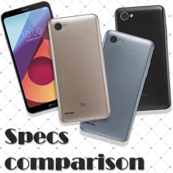 LG Q6+, Q6, Q6a vs Samsung Galaxy A5 2017 vs Nokia 6: specs comparison
