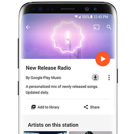 Galaxy S8-exclusive New Release Radio opens to all Play Music users, here's how to access